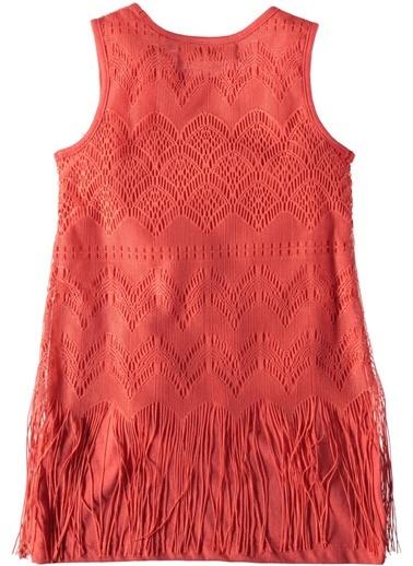 Püsküllü Elbise-Asymmetry